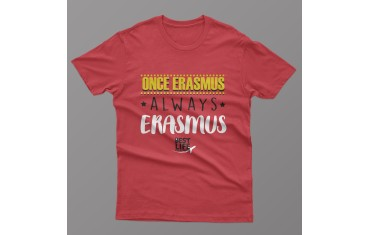 Camiseta ONCE ERASMUS ALWAYS ERASMUS